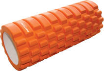 Tunturi Yoga Foam Grid Roller 33 cm Orange