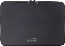 Tucano Elements Second Skin Macbook 12'' Zwart