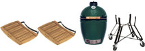 Big Green Egg Large Complete + Side Boards + Underframe