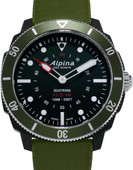 Alpina Seastrong Horological Black / Green