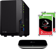 Synology DS218 + 6TB + Switch