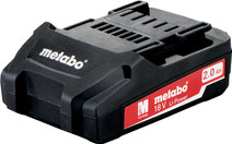 Metabo Battery 18V 2.0 Ah Li-Ion