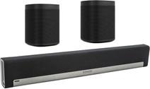 Sonos Playbar 5.0 + One (x2) Zwart