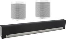 Sonos Playbar 5.0 + One (x2) White