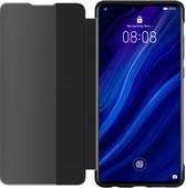 Huawei P30 View Flip Cover Book Case Black