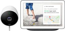 Google Nest Cam Outdoor + Google Nest Hub Charcoal