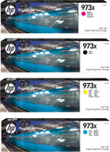 HP 973X Cartridge Combo pack 4-Kleuren