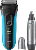 Braun Series 3 3040 Wet & Dry + Nose trimmer