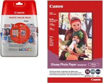Canon CLI-571XL 4 kleuren + fotopapier