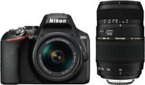 Nikon D3500 + AF-P DX 18-55mm G VR + Tamron AF-D 70-300mm Di LD
