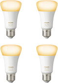 Philips Hue White Ambiance E27 Bluetooth 4-Pack