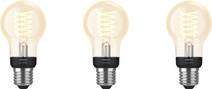 Philips Hue Filamentlamp White Standaard E27 Bluetooth 3-Pack