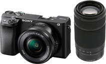 Sony Alpha A6400 + E PZ 16-50mm + 55-210mm