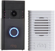 Ring Video Doorbell Brons + Ring Chime Wit