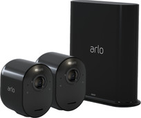 Arlo Ultra Zwart 4K Duo Pack