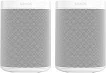 Sonos One + One SL Wit