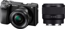 Sony Alpha A6400 + E PZ 16-50mm f/3.5-5.6 OSS + 50mm f/1.8