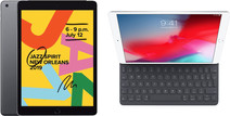 Apple iPad (2019) 128 GB Wifi Space Gray + Smart Keyboard