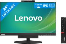 Lenovo ThinkCentre M720q 10T700AVMH + Tiny-in-One 24