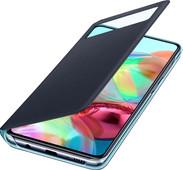 Samsung Galaxy A71 S View Book Case Black