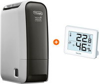 DeLonghi AriaDry Light DNS65 + Hygrometer