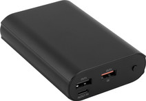 BlueBuilt Power Bank 10,000mAh Power Delivery 3.0 + Quick Charge 3.0 Black