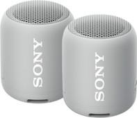 Sony SRSXB12 Duopack Grijs