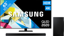 Samsung QLED 65Q80T + Soundbar