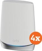 Netgear Orbi RBK753 Multiroom wifi 4-pack