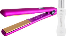 CHI G2 Pink Metallic Limited Edition + BioSilk Silk Therapy