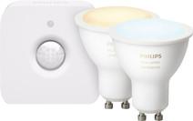 Philips Hue White Ambiance GU10 Duo Pack Bluetooth + Philips Hue Motion Sensor