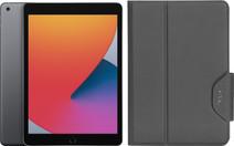 Apple iPad (2020) 128GB WiFi Space Gray + Targus VersaVu Book Case
