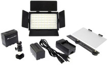 Falcon Eyes LED Lamp Set Dimmable DV-216VC-K2 incl. Battery