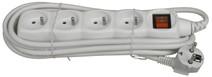 Deltac Power Strip 230V White 3 Meters