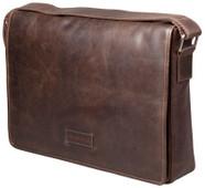 "dbramante1928 Marselisborg Shoulder Bag 14"" Dark Brown"