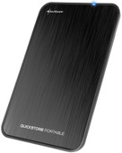 Sharkoon QuickStore Portable USB 3.1 2,5 inch Zwart
