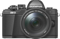 Olympus OM-D E-M10 Mark II Zwart + 14-150mm