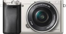Sony Alpha A6000 Zilver + PZ 16-50mm OSS