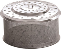 LotusGrill Coalholder XL stainless steel