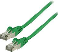 Valueline Netwerkkabel FTP CAT6 15 meter Groen