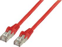 Valueline Netwerkkabel FTP CAT6 20 meter Rood