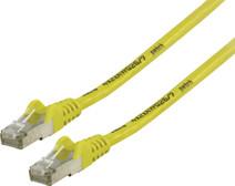 Valueline Netwerkkabel FTP CAT6 3 meter Geel