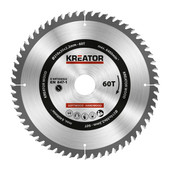 Kreator Saw Blade for Wood 210x30x2.2mm 60T