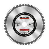 Kreator Saw Blade for Wood 254x30x3mm 80T