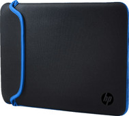 "HP 15,6"" Reversible Sleeve Zwart/Blauw"