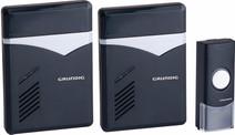 Grundig Wireless Doorbell 2 Receivers AC Power
