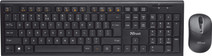 Trust Nola Wireless Keyboard and Mouse QWERTY