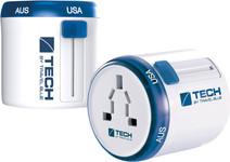 Travel Blue Twist & Slide Wereld Adapter - Europa