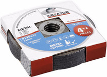 Kreator Metal grinding wheel 125 mm 6 pieces