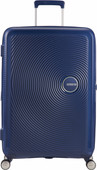 American Tourister Soundbox Expandable Spinner 67cm Midnight Navy